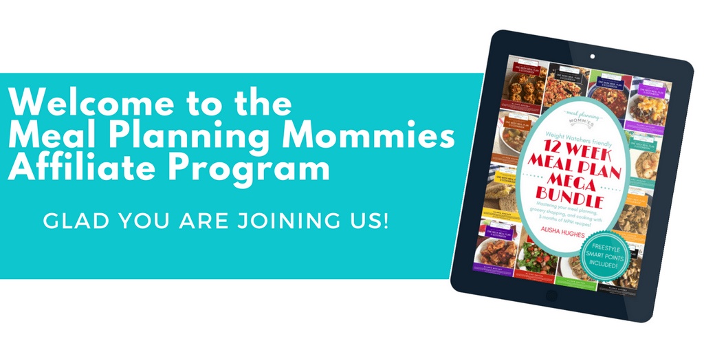 Welcome to the Meal Planning Mommies Affiliate Program