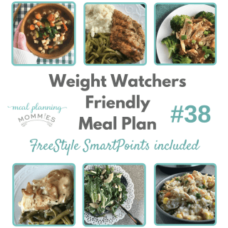 Weight Watchers Friendly Meal Plan with FreeStyle Smart Points #38