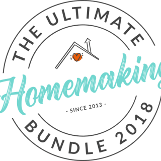 The 2018 Ultimate Homemaking Bundle is here!