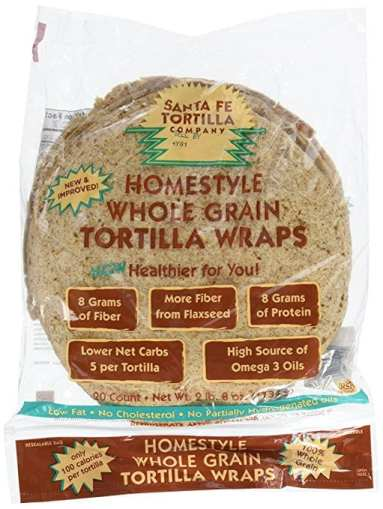 Santa Fe Tortillas that are low in Weight Watchers SmartPoints - Meal Planning Mommies