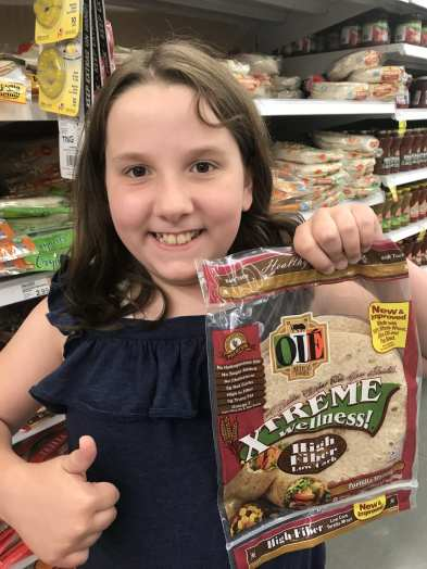 1 SmartPoint flour tortillas - Ole Xtreme Wellness High Fiber Low Carb wraps