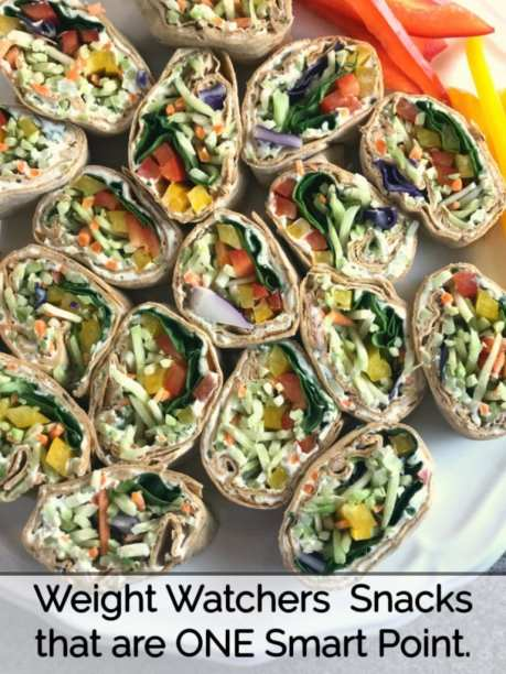 Weight Watchers snack recipes that are one WW FreeStyle Smart Point per serving.