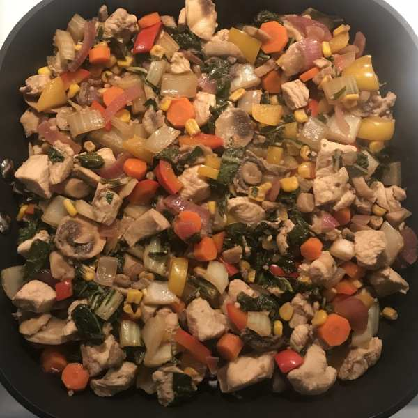 Lemon Seseam Asian Stir Fry on Meal Planning Mommies - One serving is just 1 WW FreeStyle SP!