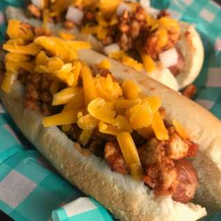 WW Friendly Chili Cheese Dogs