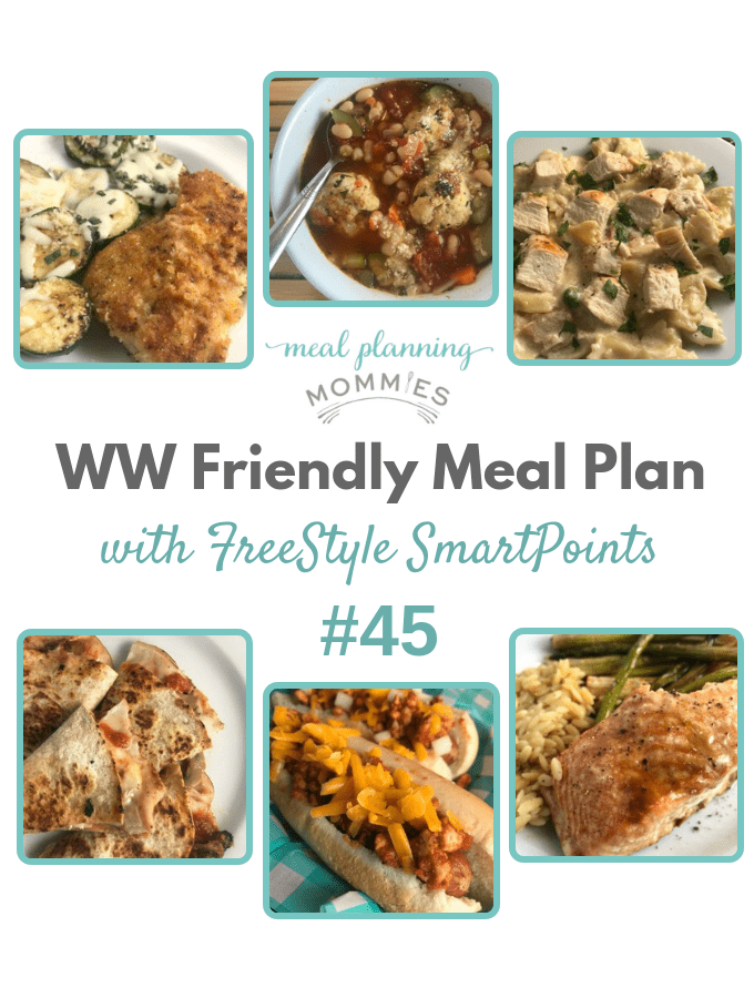 WW Friendly Meal Plan with FreeStyle Smart Points #45