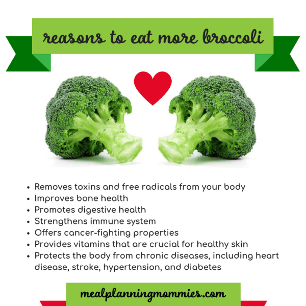 7 reasons to eat more broccoli. Health benefits of broccoli from the inside out!