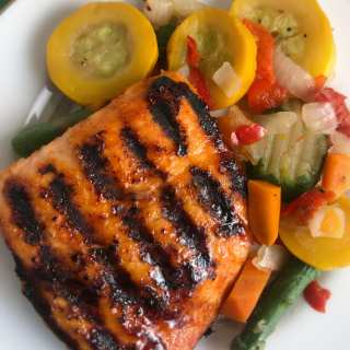 Honey Smoked Salmon