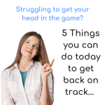 5 Things You Can Do to Get Back on Track.