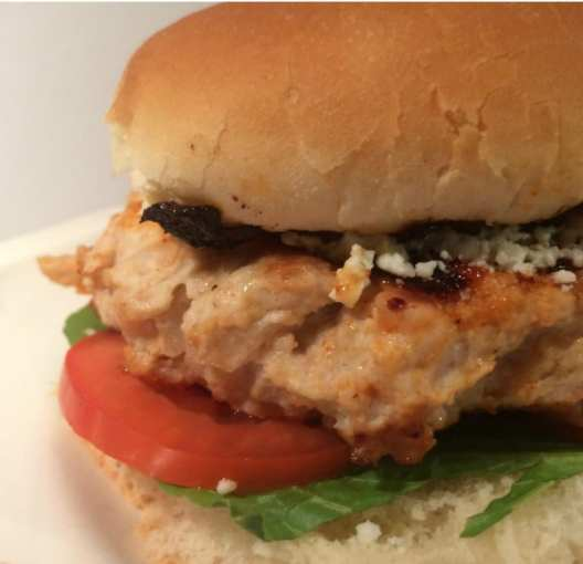 Great WW Super Bowl Party snack: Blue Cheese Buffalo Chicken Sandwiches