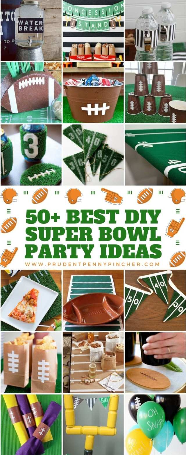 50 best DIY super bowl party decoration ideas