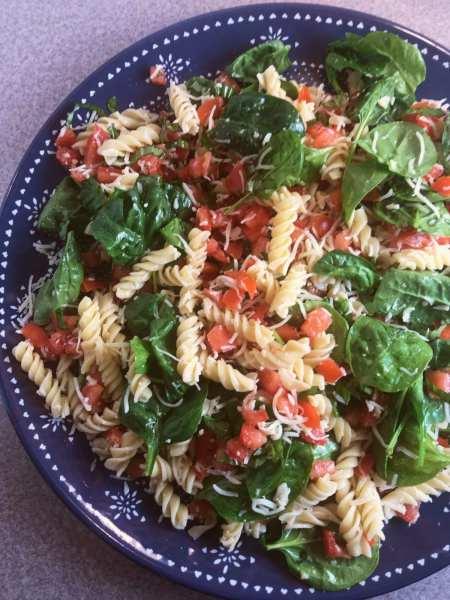 Great WW Super Bowl Party salad: Bruschetta Pasta Salad