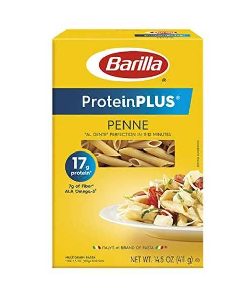 Barilla ProteinPlus Penne pasta is 5 WW FreeStyle SP per serving and 17 grams of protein!