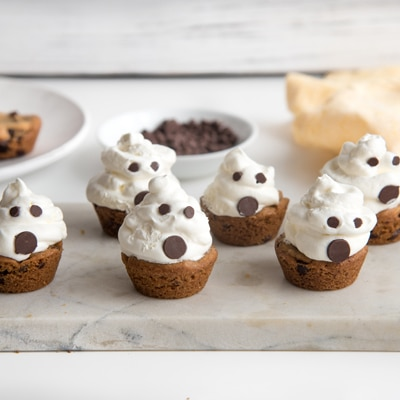 Haunted Cookie Cups