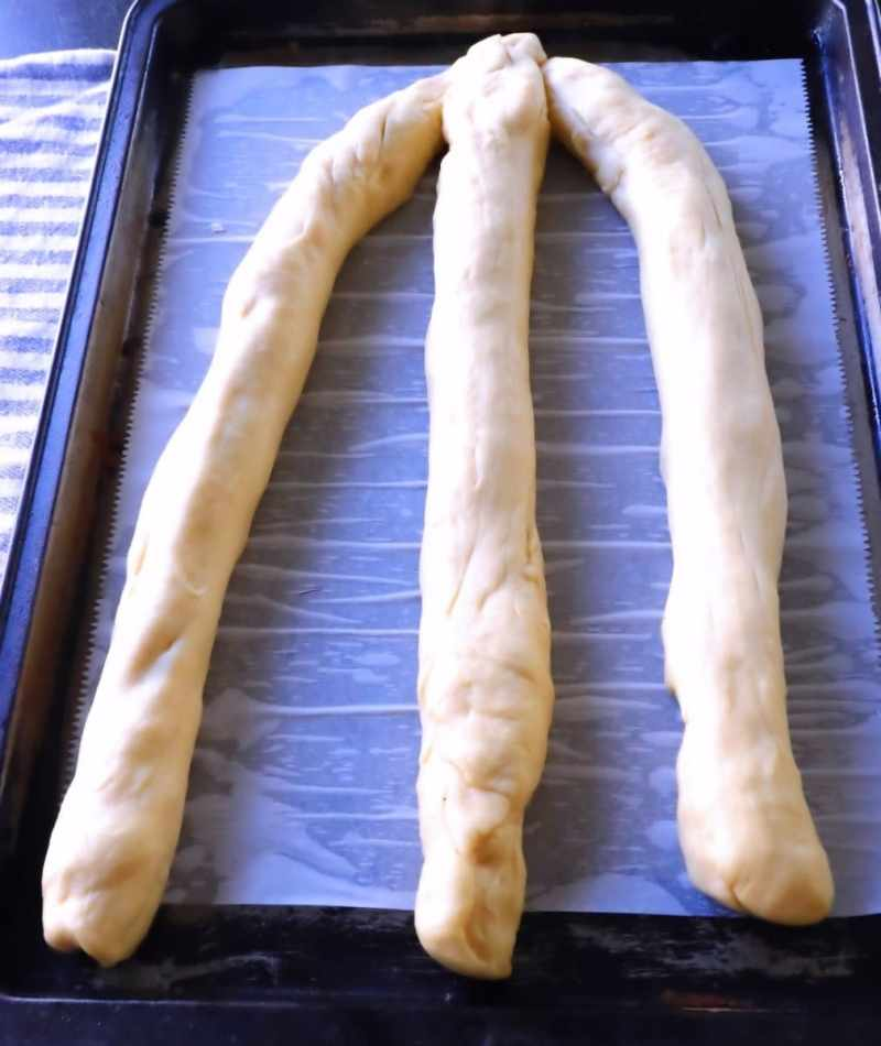 Braing dough step-by-step guide