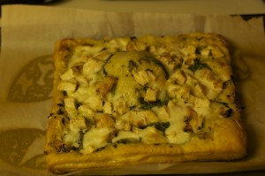 Chicken Pesto Tart