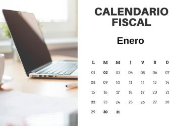 Calendario Fiscal Enero