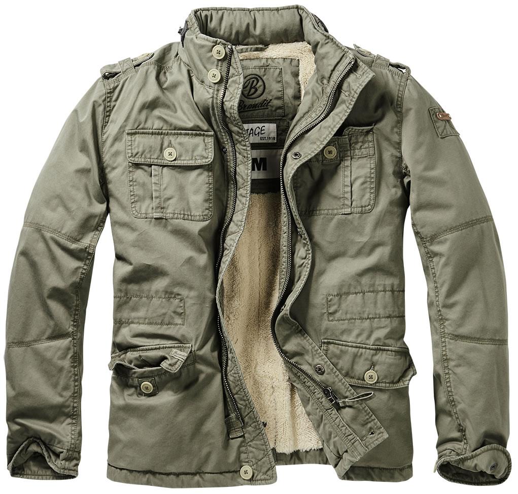 Vintage Winter M65 Jacket By Brandit