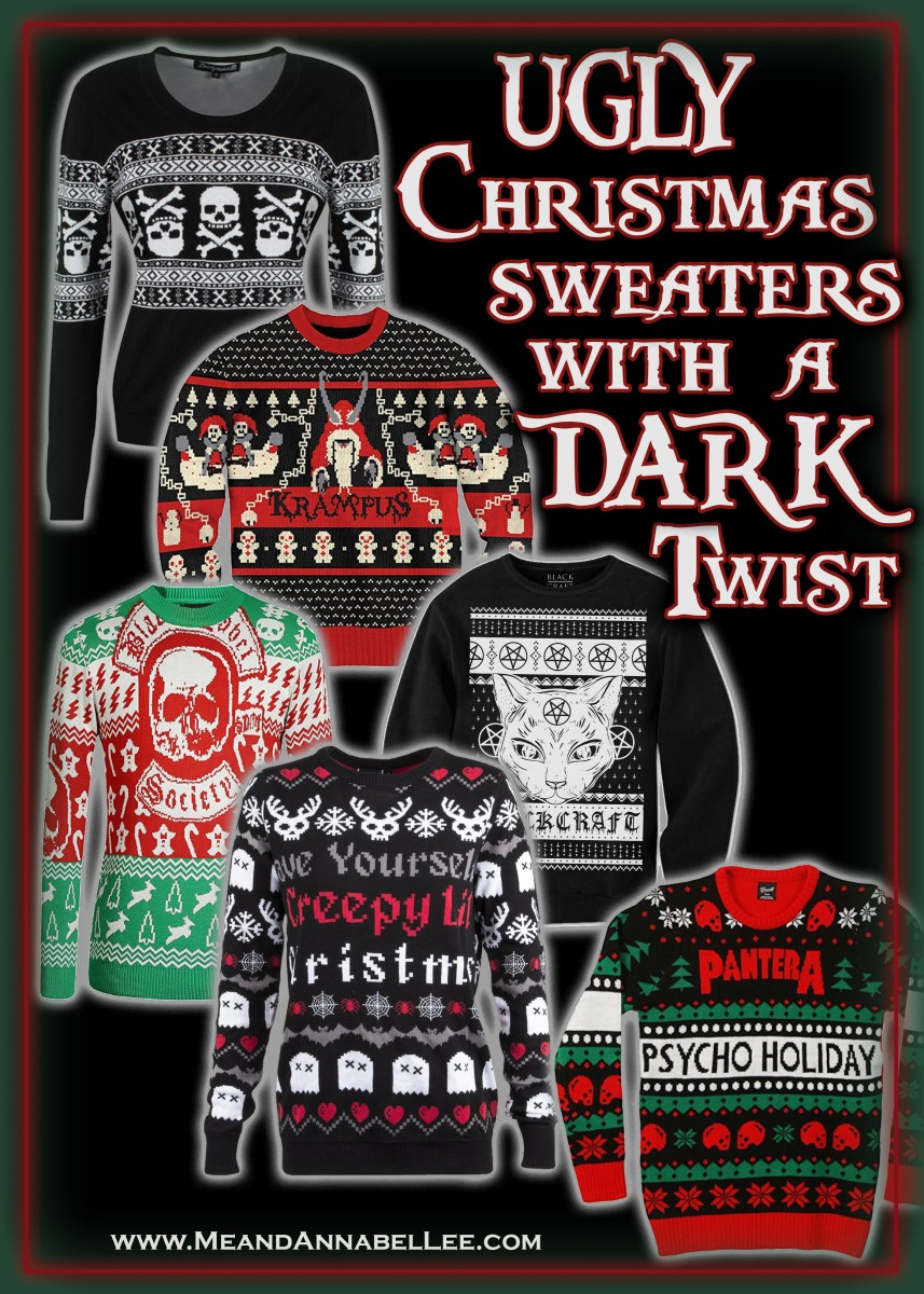 Ugly Christmas Sweaters with a Dark Twist