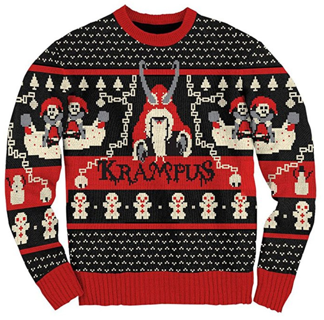 Dark Twisted Gothic Ugly Christmas Sweaters Me And Annabel Lee