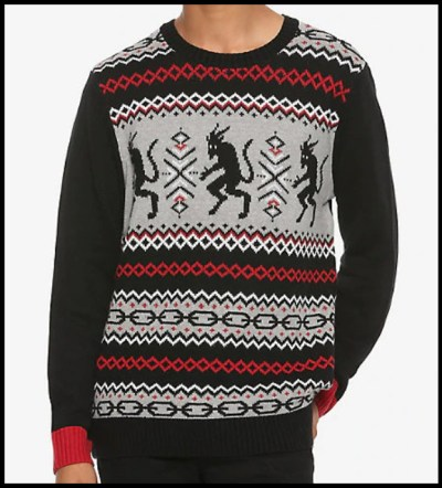 Dark Twisted Gothic Creepy Ugly Christmas Sweaters Me And