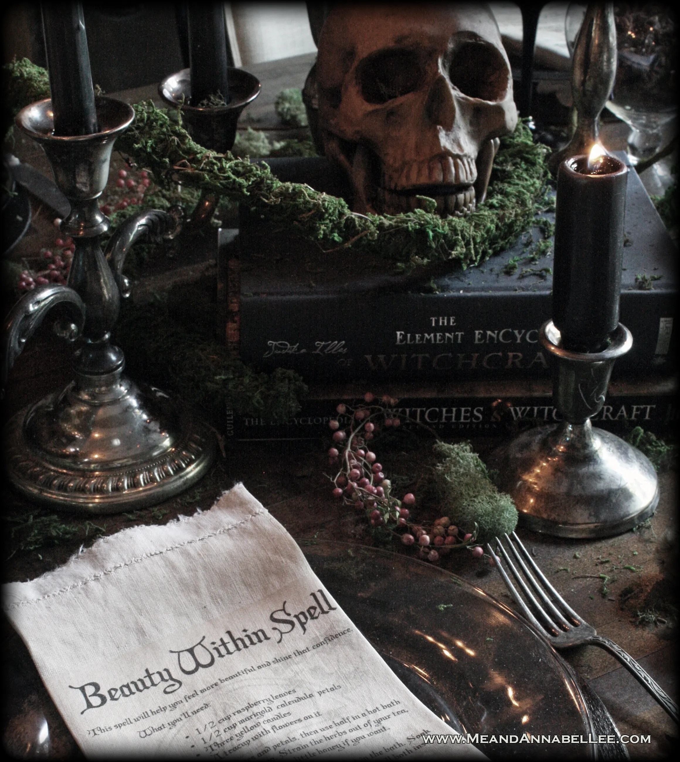 Witches' Dinner Party | Halloween Table | Samhain