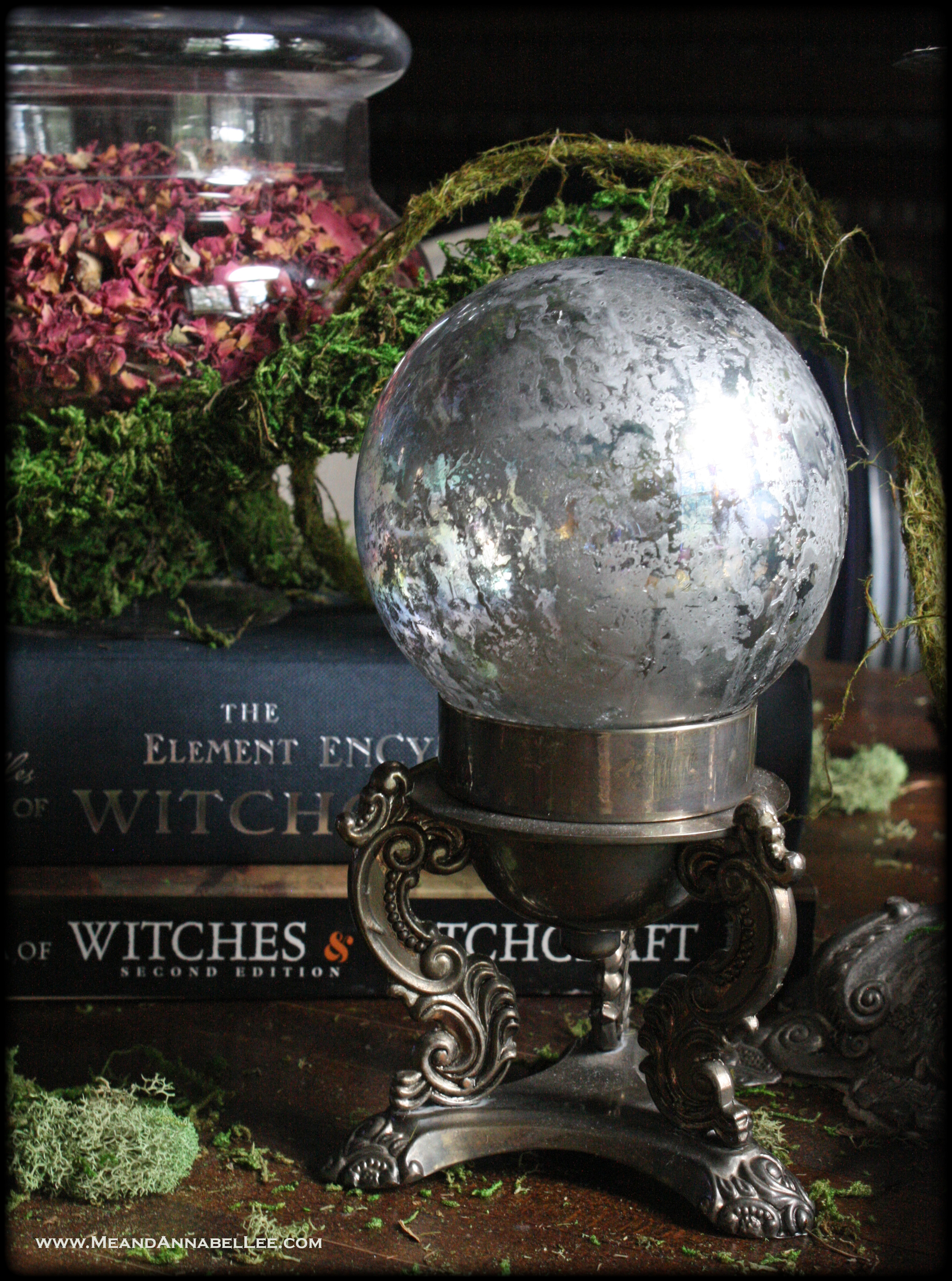 DIY Crystal Balls - 5 Easy Methods | Witches Halloween Party