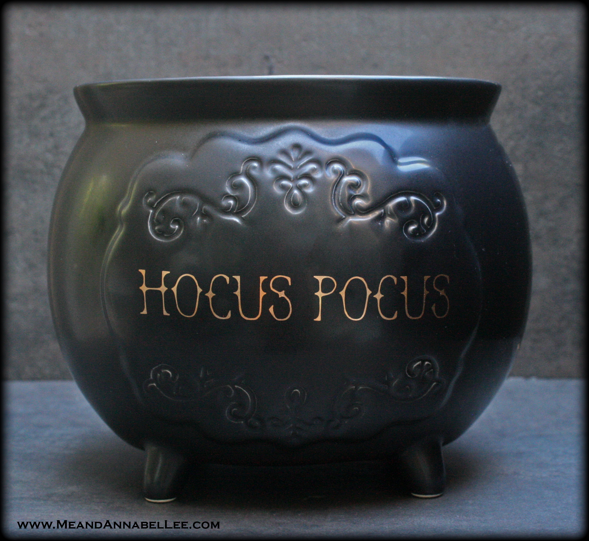 Diy Faux Iron Witches Cauldron Halloween Decor Crafts Me And Annabel Lee Blog