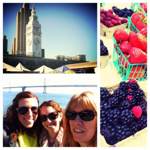 Spending time at the Ferry Building and Farmer's Market