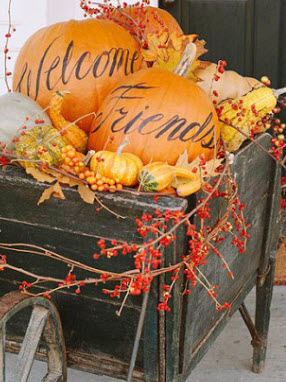 """You can find a cart like this one on line....but they are not very sturdy so be careful """"filling"""" them with heavy pumpkins."""
