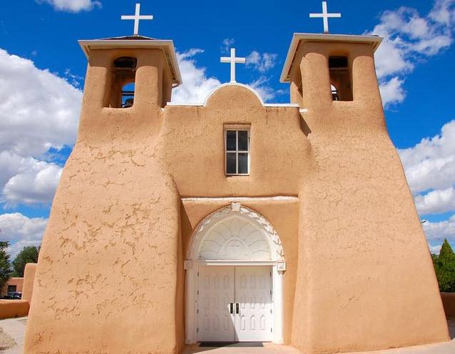 Asis Church Taos, New Mexico