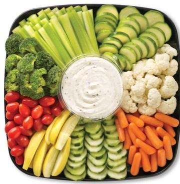 Gotta have veggies....