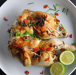 How about Roasted Coconut Chicken?