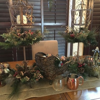 Christmas Tablescape and Decor 2015