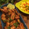 Thai Wings with Peanut Sauce