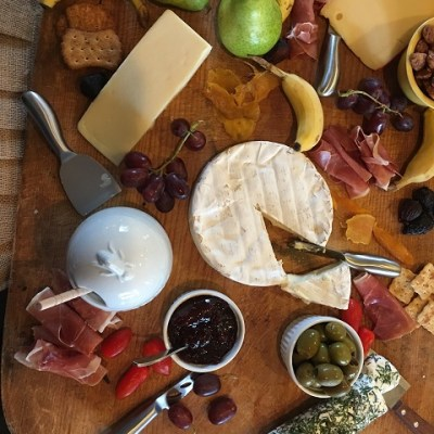 Cheeseboard, Soup Or Salad At Our House….