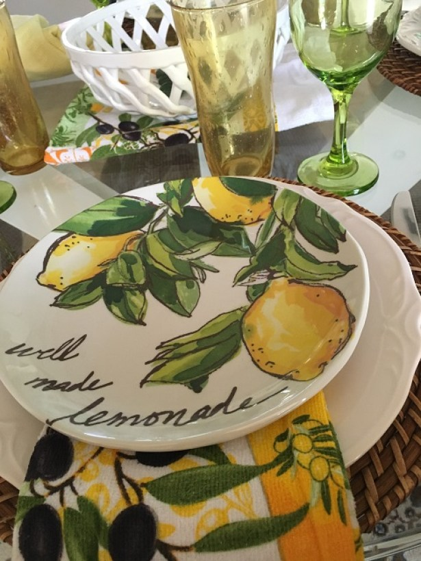 Blog - Summer Lemon Tablescape1