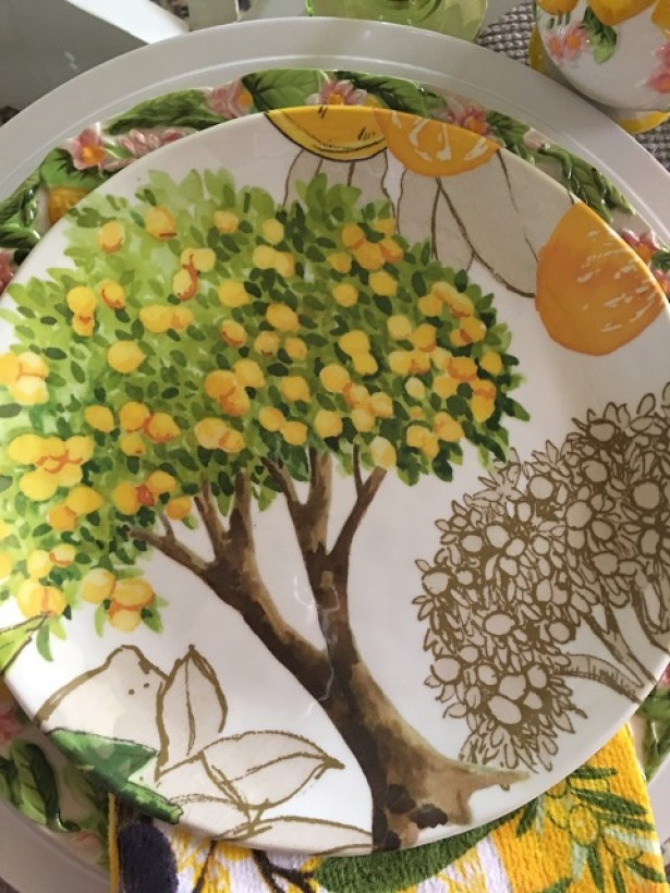 Summer lemon tablescape12
