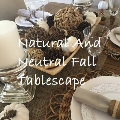 Neutral and Natural Is Also Beautiful and Good!