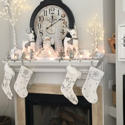 Decorating the Christmas Mantel…the Day After Thanksgiving!