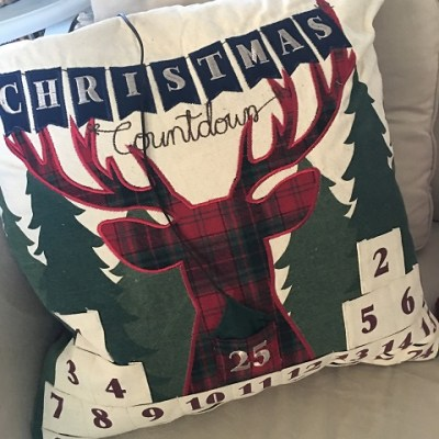 Decorating For Christmas With Pillows!