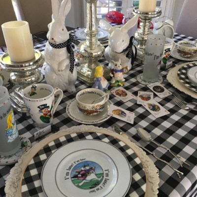This Is The Most Curious Tea Party……. !