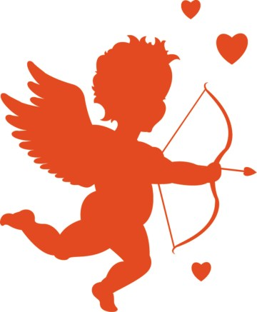 February and cupid