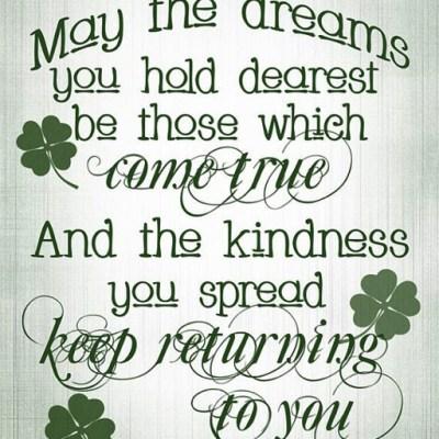 Happy St. Patrick's Day, Menu & Tablescape!