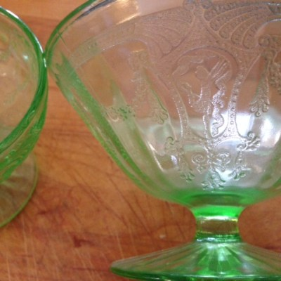 The Dancing Ballerina of Depression Glass