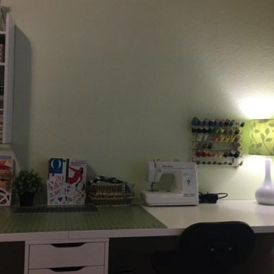 Office/Studio/Sewing/Gift Wrap Room Update.