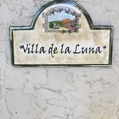 Autumn Dining at Villa de la luna.