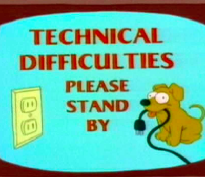 Technical Difficulties Seem To Be Fixed…..I Hope!