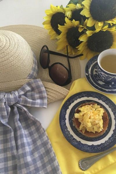 Sunflower breakfast
