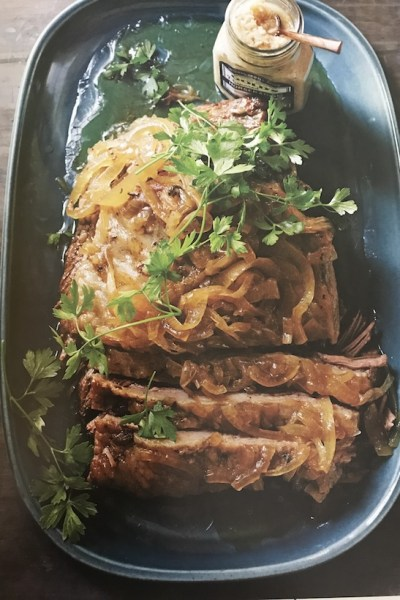 Slow Cooker Brisket With Onions!