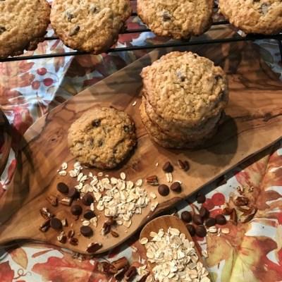 pumpkin oatmeal cookies15